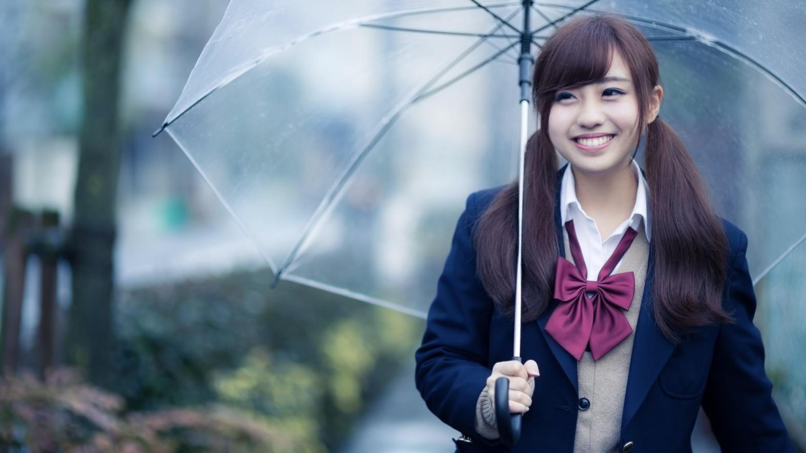 かわいい高校生